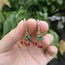 wholesale jewelry candy color bear gummy pendant earrings nihaojewelry  NHYIA389753