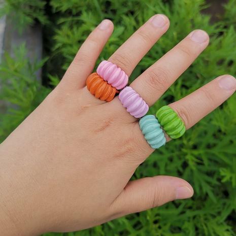 Al por mayor joyería de color caramelo anillo de resina geométrica Nihaojewelry NHYIA389761's discount tags