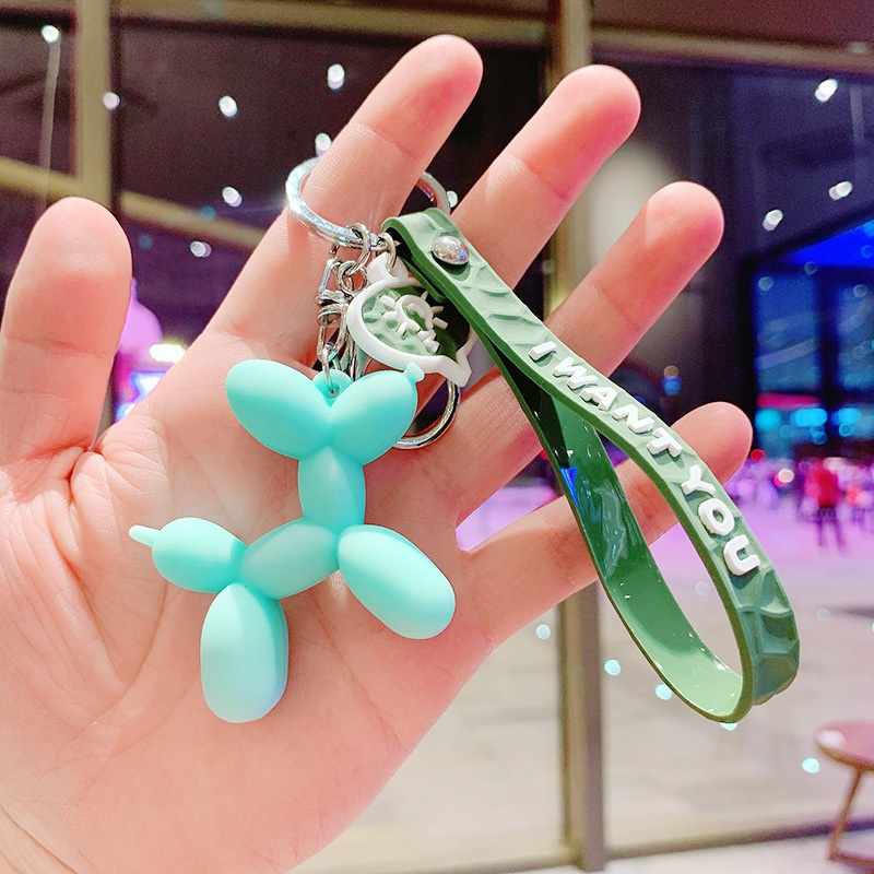 Balloon dog doll pendant keychain wholesale accessories Nihaojewelry NHQYF389859