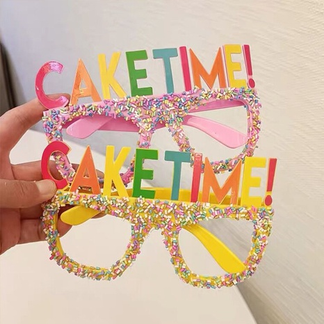 Großhandel Süßigkeiten Farbe Geburtstagsgläser Dekoration Nihaojewelry NHAH389925's discount tags