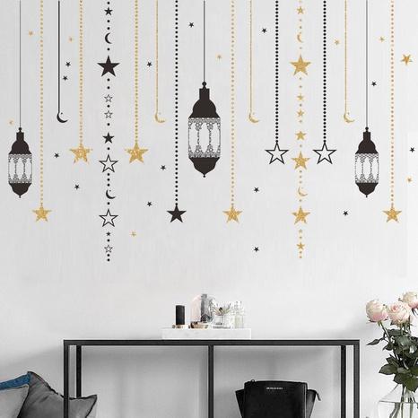 Wholesale Moon Chandelier Star Bedroom Entrance Wall Sticker Nihaojewelry  NHAF389987's discount tags