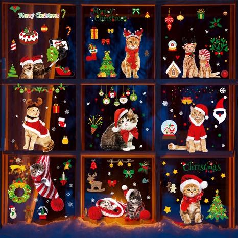 wholesale cartoon Christmas pattern window wall stickers nihaojewelry  NHAF389993's discount tags