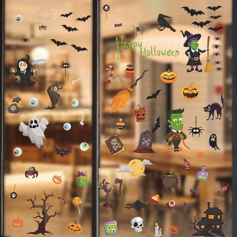 wholesale cartoon halloween pattern wall stickers nihaojewelry  NHAF390002's discount tags
