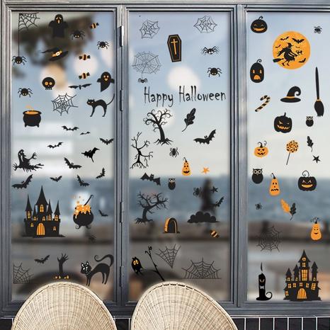 wholesale cartoon halloween pattern wall sticker nihaojewelry  NHAF390008's discount tags