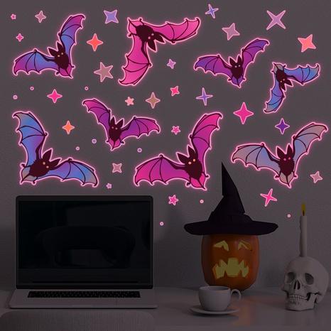 Wholesale Cartoon Luminous Bat Pattern Wall Stickers Nihaojewelry  NHAF390009's discount tags
