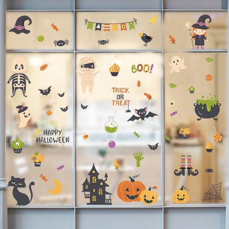 wholesale cartoon cute halloween pattern wall sticker nihaojewelry  NHAF390014's discount tags