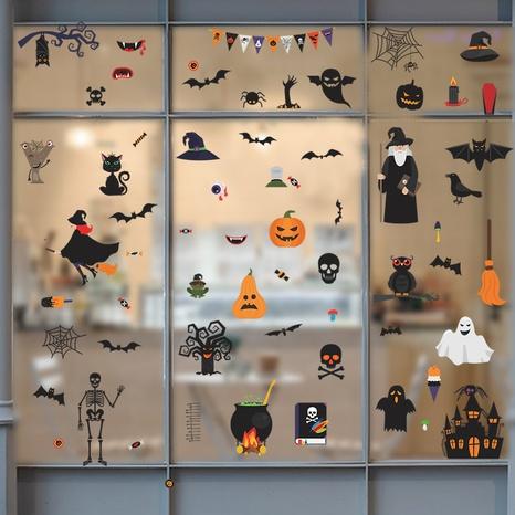 wholesale cartoon cute Halloween pattern wall stickers nihaojewelry  NHAF390021's discount tags
