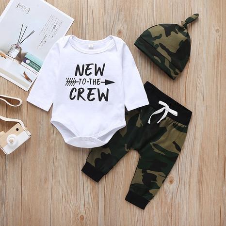wholesale letras ropa infantil de una pieza de dos piezas Nihaojewelry NHLF390128's discount tags