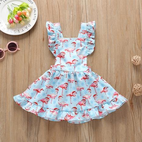 wholesale vestido sin mangas de una línea de encaje infantil estampado Nihaojewelry NHLF390136's discount tags