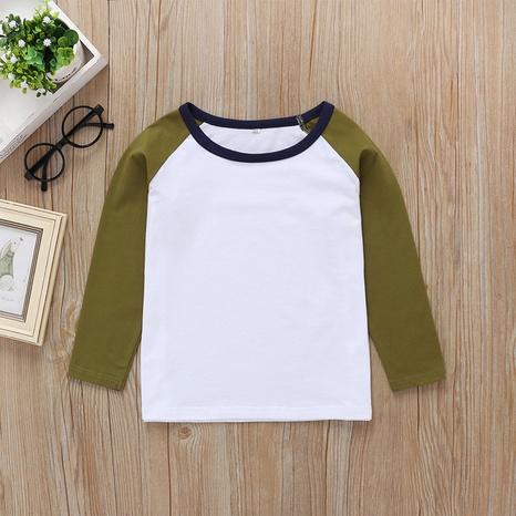 wholesale camiseta de manga larga a juego de colores para niños Nihaojewelry NHLF390152's discount tags