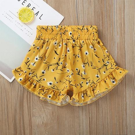 Al por mayor pantalones florales de encaje para niños Nihaojewelry NHLF390162's discount tags