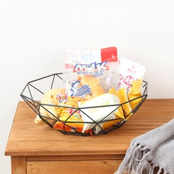 wholesale hollow wine cup shape drain snack fruit storage basket nihaojewelry  NHAW390364