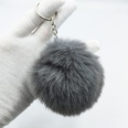 NHDI1809397-gray-Single-loop-buckle-8cm-hair-ball