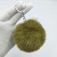NHDI1809404-Army-Green-Single-loop-buckle-8cm-hair-ball
