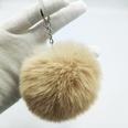 NHDI1809409-Khaki-Single-loop-buckle-8cm-hair-ball