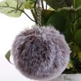 NHDI1809410-Two-tone-gray-Single-loop-buckle-8cm-hair-ball