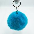 NHDI1809417-Lake-blue-Single-loop-buckle-8cm-hair-ball