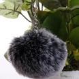 NHDI1809419-Two-tone-black-Single-loop-buckle-8cm-hair-ball
