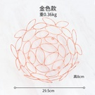 NHAW1813029-Rose-gold-hole-type-fruit-plate