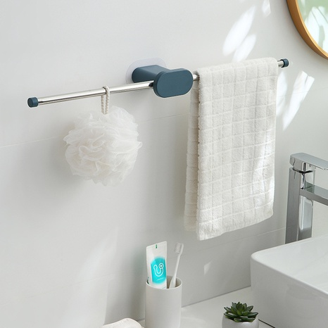 Großhandel schlagfreie Toilettenwand aus Edelstahl faltbarer Handtuchhalter Nihaojewelry NHYUE389969's discount tags