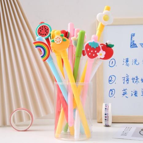pluma de gel animal de fruta de dibujos animados lindo al por mayor Nihaojewelry NHGSY389876's discount tags