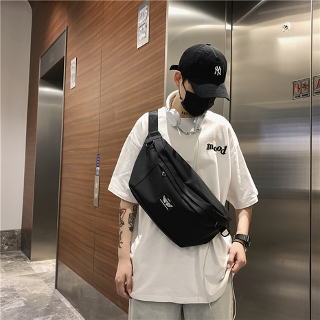 wholesale large-capacity messenger chest bag nihaojewelry  NHLH390507's discount tags