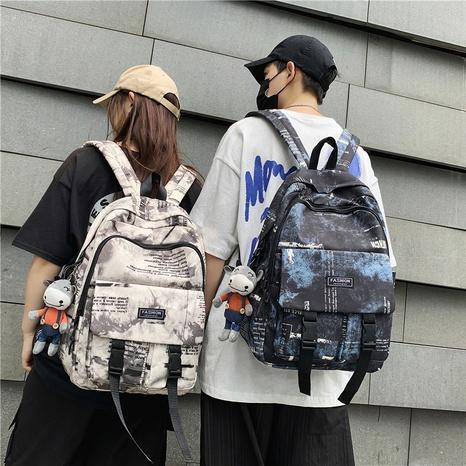 wholesale graffiti pattern doll pendant backpack nihaojewelry  NHGA390512's discount tags