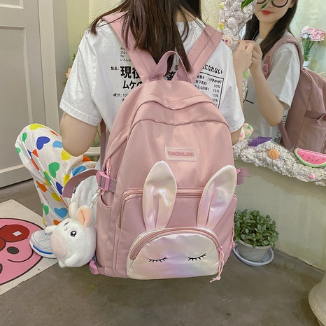 wholesale hit color rabbit pattern backpack nihaojewelry  NHGA390514's discount tags