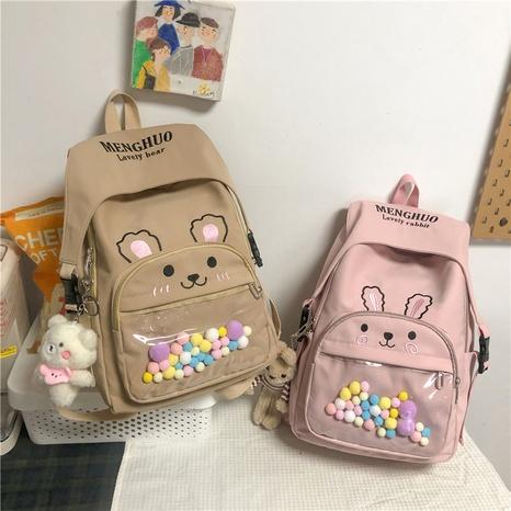 wholesale large capacity cartoon animal pendant backpack nihaojewelry  NHGA390534's discount tags