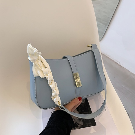 wholesale silk scarf handle fold portable messenger small square bag nihaojewelry  NHLH390600's discount tags