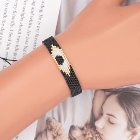 mal de ojo Miyuki cuentas pulsera de estilo étnico tejido a mano joyería al por mayor Nihaojewelry NHBDB390706's discount tags