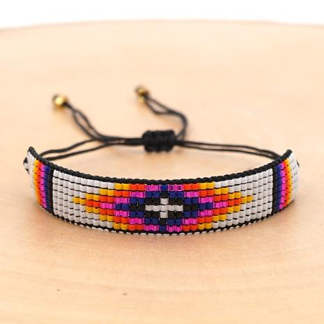 ethnic style Miyuki beads handmade wide bracelet wholesale jewelry Nihaojewelry NHBDB390707's discount tags