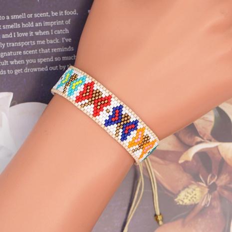 butterfly handmade Miyuki bead ethnic style bracelet wholesale jewelry Nihaojewelry NHBDB390708's discount tags