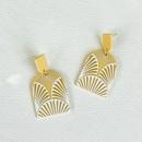 wholesale jewelry plate printing pattern acrylic earrings Nihaojewelry  NHYIA391243