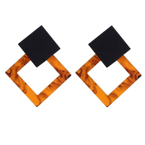 geometric acrylic exaggerated long earrings wholesale jewelry Nihaojewelry NHHER391711's discount tags