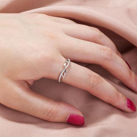 wholesale fashion creative branch copper zircon ring Nihaojewelry  NHDB391848's discount tags