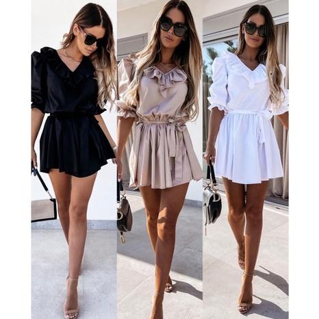 Nouvelle robe d'été à manches courtes NHJG393581's discount tags
