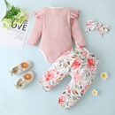 wholesale baby pullover printed trouser suit Nihaojewelry NHLF392215