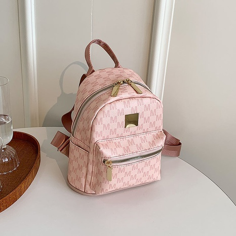 simple style letter zipper backpack wholesale Nihaojewelry NHLH392559's discount tags
