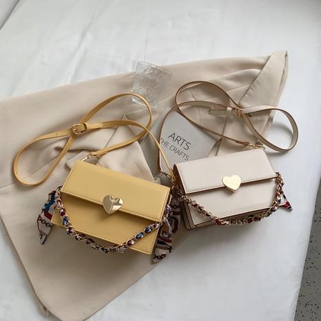 sac portable de messager d'épaule simple de boucle de coeur en gros Nihaojewelry NHTG392609's discount tags