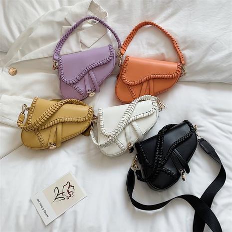 sac à main messager à bandoulière texturée en gros Nihaojewelry NHTG392610's discount tags