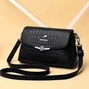 crocodile pattern fashion oneshoulder diagonal bag wholesale Nihaojewelry NHAV392636