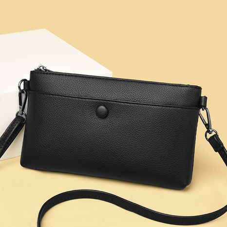 vente en gros sac diagonal à une épaule à glissière multicolore Nihaojewelry NHAV392640's discount tags