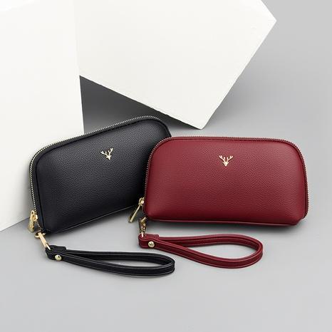 vente en gros pochette simple de couleur unie Nihaojewelry NHAV392641's discount tags