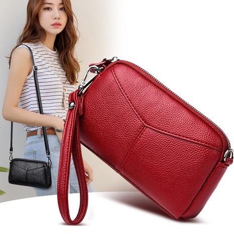 vente en gros sac de messager de coquille d'embrayage de couleur unie Nihaojewelry NHAV392643's discount tags