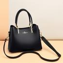 wholesale fashion bronzing kangaroo solid color diagonal handbag Nihaojewelry  NHAV392648