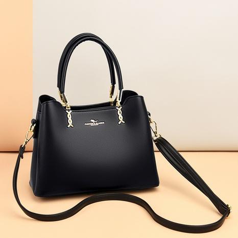 wholesale sac à main diagonal de couleur unie kangourou bronzant à la mode Nihaojewelry NHAV392648's discount tags