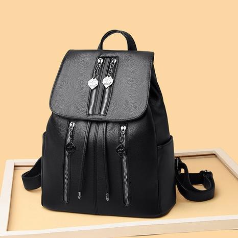 wholesale nouveau sac à dos coréen à fermeture éclair Nihaojewelry Nihaojewelry NHAV392652's discount tags