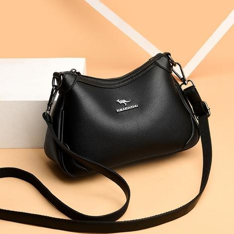 vente en gros nouveau sac de boulettes diagonales à une épaule de couleur unie Nihaojewelry NHAV392656's discount tags