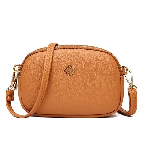 vente en gros sac diagonal à une épaule à glissière en métal tendance de la mode Nihaojewelry NHAV392658's discount tags